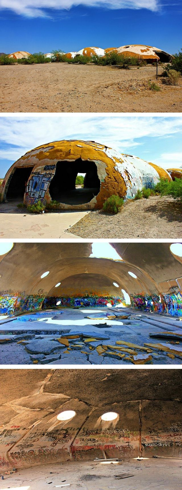 The abandoned domes of Casa Grande are arguably one of Arizona's most weird derelict places, and they've attracted their share of ghost hunters also.