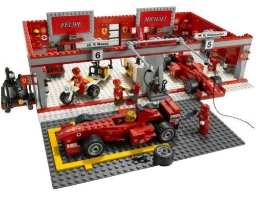 LEGO Racers 8144: Ferrari 248 F1 Team  none  http://www.comparestoreprices.co.uk/action-figures/lego-racers-8144-ferrari-248-f1-team.asp