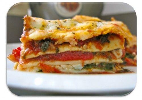 Вегетарианская лазанья – легко и вкусно