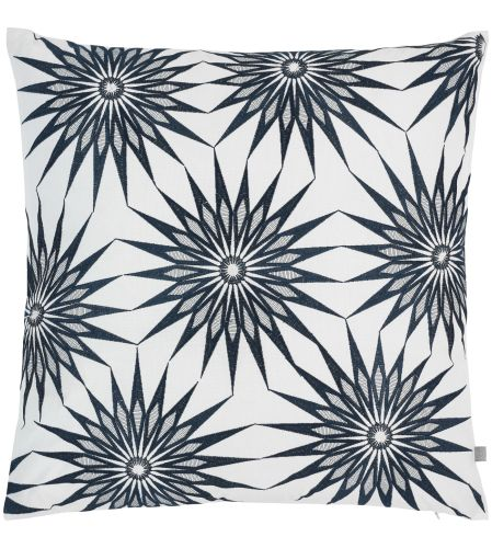Ilang Coussin 50x50 à motifs bleus (www.habitat.fr) 35€