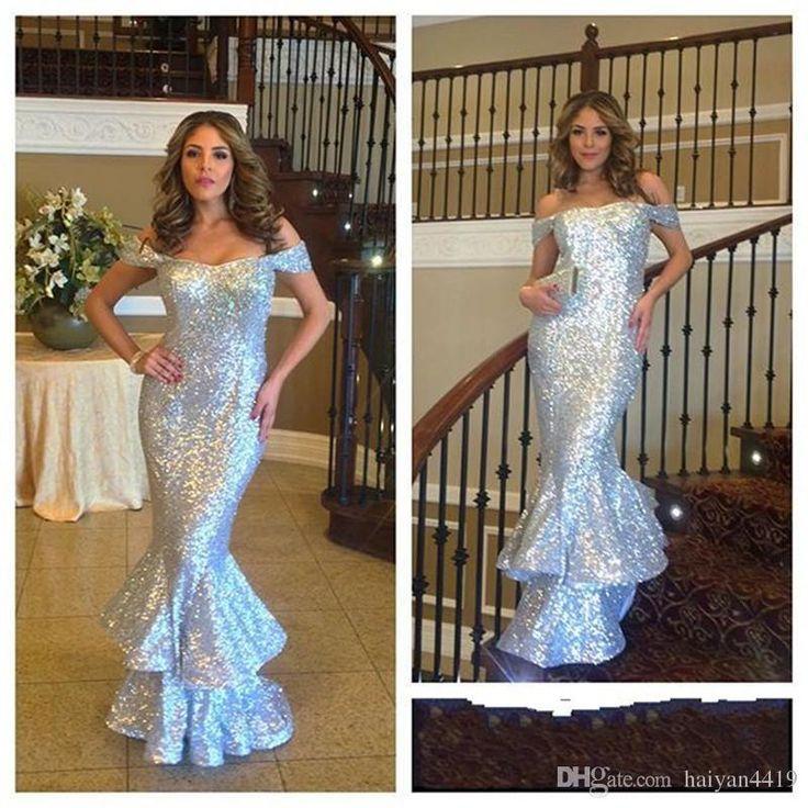 Silver Long Prom Dress 2017 – fashion dresses 75b9eb0ed5eb