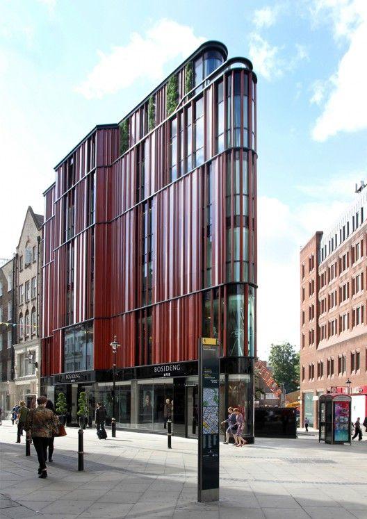 Edificio South Molton Street by DSDHA (Londres, Inglaterra) #architecture