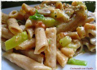 Pasta Vegetariana, Recetas con Pasta, Recetas Fáciles de Cocina #recetas #recetasfaciles #recetasdecocina #recetasgratis