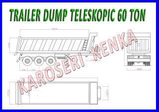INFO HARGA >> PEMBUATAN TRAILER BOX + DUMP SYSTEM >> KAROSERI KENKA
