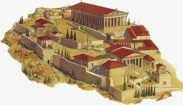 Arquitectura En La Antigua Grecia Templo Griego Características Paisaje Arquitectura De La Antigua Grecia Arquitectura Griega Arquitectura Griega Antigua