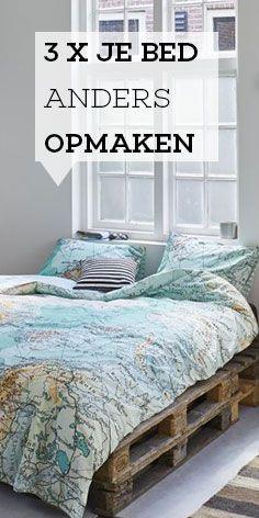 3x je bed anders opmaken | Woonboulevard Poortvliet | Blog  #wijzijnwonen #wooninspiratie #woonblog #interieurblog #interieurinspiratie #woonboulevardpoortvliet #woontrend #stylingtips #styling #interieurstyling #slaapkamer #bedroom #styling #bedopmaken #slaaptips