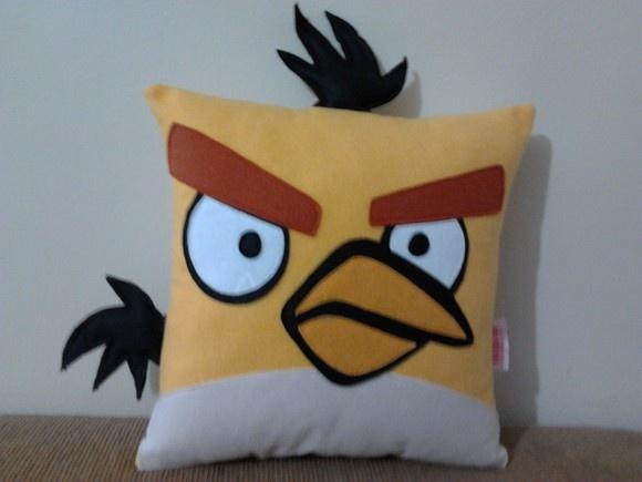 Almofada | Angry Birds | Yellow | em feltro