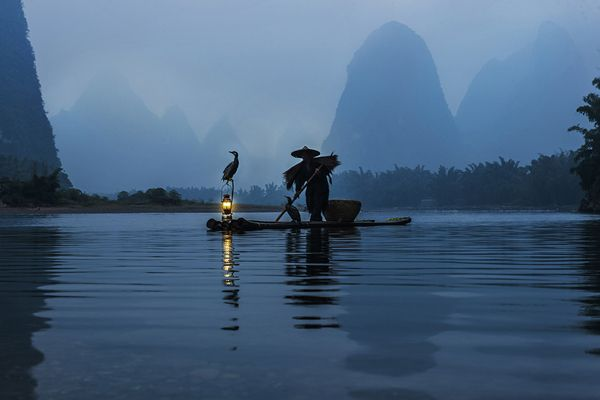 The Li River or Lijiang is a river in Guangxi Zhuang Autonomous Region, China. It flows 83 kilometres from Guilin to Yangshuo, where the karst mountains and river sights highlight the famous Li River cruise. http://vacationandtripplanning.blogspot.in/2015/11/7-best-places-to-visit-in-china.html