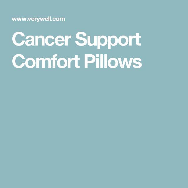 Cancer Support Comfort Pillows