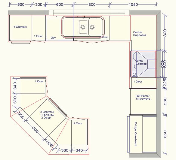 Kitchen Plans With Dimensions: Best 25+ Kitchen Layouts Ideas On Pinterest