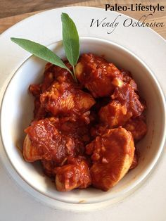 Kip in frisse tomaten-sinaasappelsaus