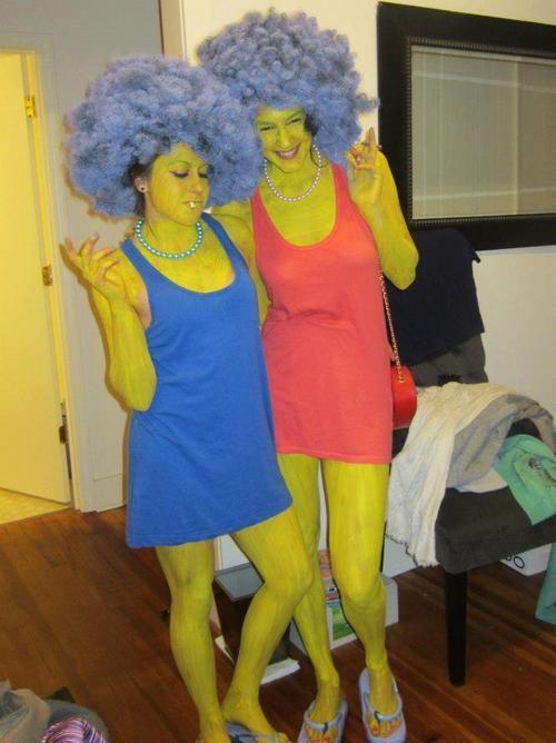 patty selma halloween costumes - Simpson Halloween Costume