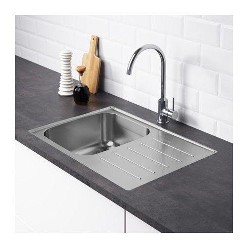 BOHOLMEN 1 Bowl Insert Sink Drain+str/wtrap   IKEA