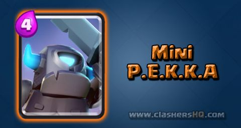Find out all about the Clash Royale Mini P.E.K.K.A. Card. How to get Mini P.E.K.K.A. & attack/counter Mini P.E.K.K.A. effectively.