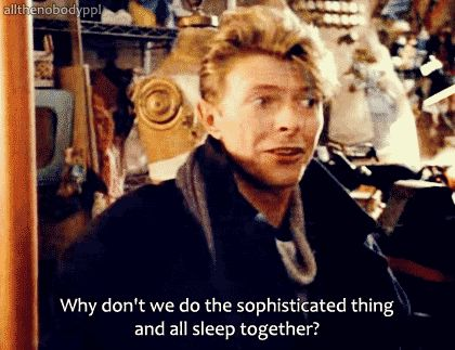 When you're mediating an argument. | Community Post: 34 Perfect David Bowie GIFs For Every Occasion