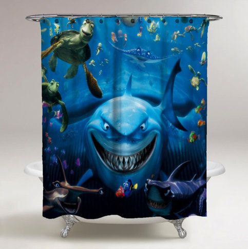 #valentineday #valentinegift #valentine #elegant #luxury #awesome #favorite #best #new #rare #cheap #fashion #women #style #men #love #couples #showercurtains #accessoriesbathroom #bathroom  #findingnemo #shark #cutedory #ocean #sea