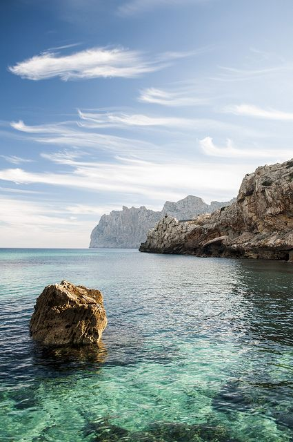 Cala San Vicente, Baleares Spain マジョルカ島