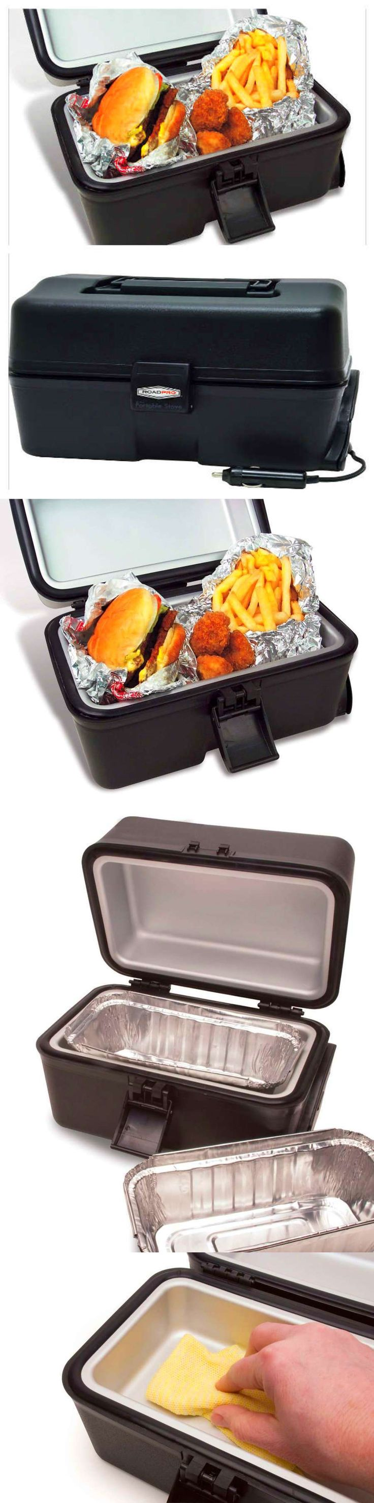 12-Volt Portable Appliances: Portable Microwave Stove Oven Heater 12 Volt Car Cigerette Lighter Food Warmer BUY IT NOW ONLY: $42.26