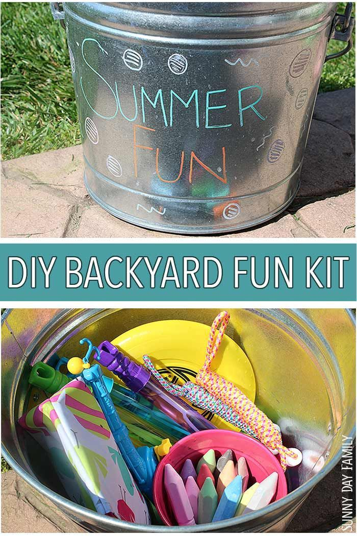 Everything You Need For Backyard Summer Fun In This Cute DIY Kit Perfect