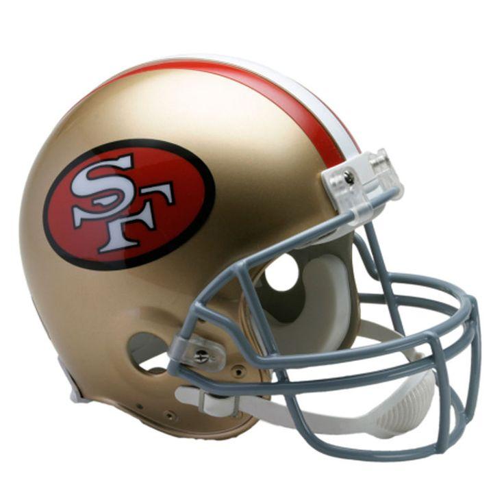 Riddell San Francisco 49ers Throwback 1964-1995 VSR4 Full-Size Authentic Football Helmet