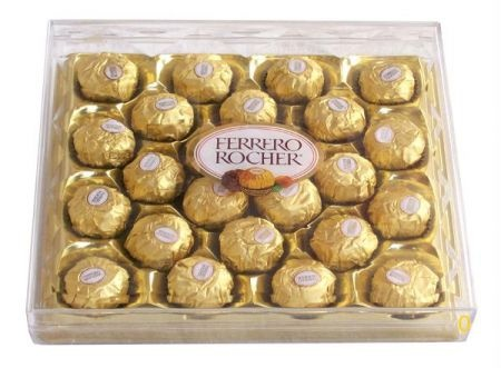 Shop ferrero rocher online in India at lowest price and cash on delivery. Best offers on ferrero rocher and discounts on ferrero rocher at Rediff Shopping. Buy ferrero rocher online    from India's leading online shopping portal - Rediff Shopping. Compare ferrero rocher features and specifications. Buy #ferrero rocher online at best price.