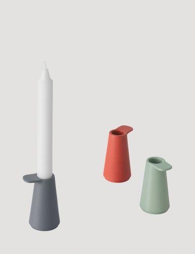 Grip - Modern Scandinavian Design Candle Holder by Muuto - Muuto