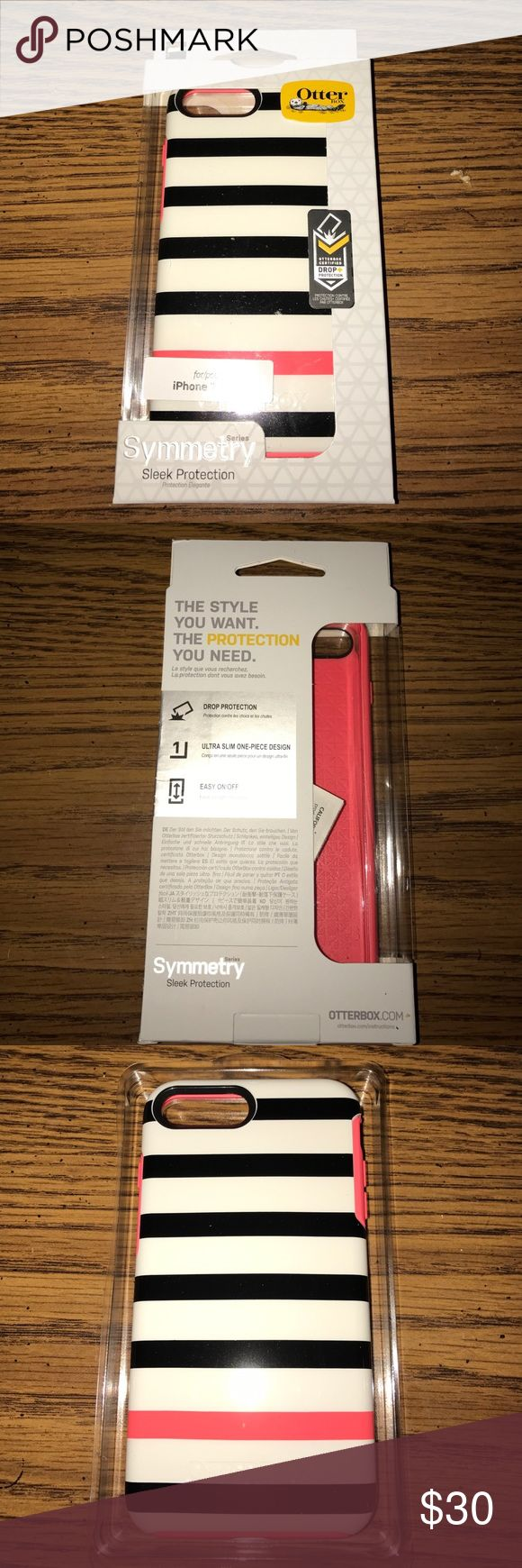 iPhone 7 plus symmetry otter box Brand new, never opened. iPhone 7 plus otter box. It is the symmetry series. OtterBox Accessories Phone Cases