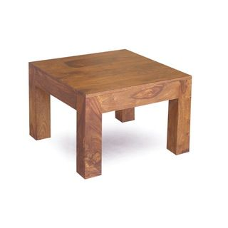 @Overstock   Handcrafted Cube Small Coffee Table (India)   This  Handcrafted, Hand
