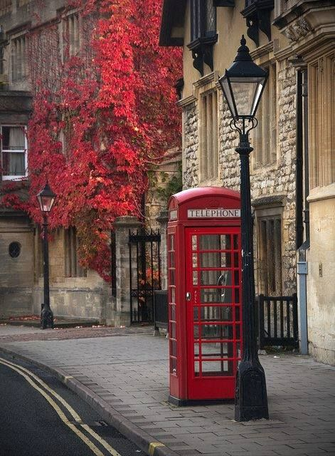 ...and that lovely red vine & phone booth.