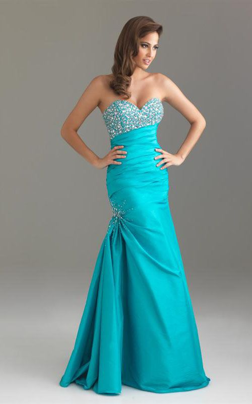 pictures of turquoise items | Online Sale Turquoise 6423 Night Moves Sequin Prom Dress [Turquoise ...