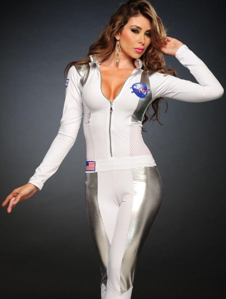 3Wishes Sexy Astronaut Costume Sexy Female Astronaut -8251