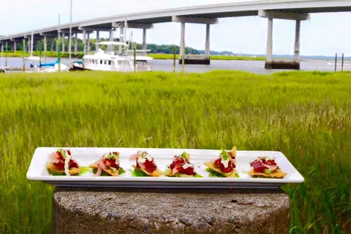 121 best images about southern cuisine on pinterest for Fish seafood and raw bar hilton head