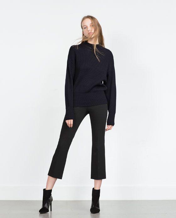 Image 1 of HIGH WAIST LEGGINGS from Zara