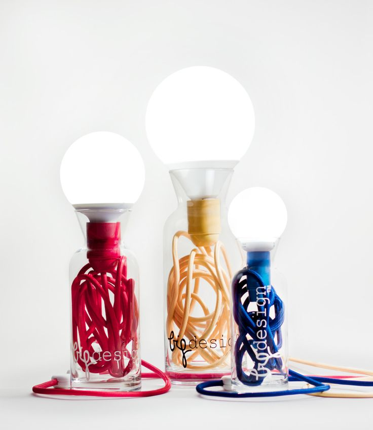 Shop pulse glass lamp ecru on