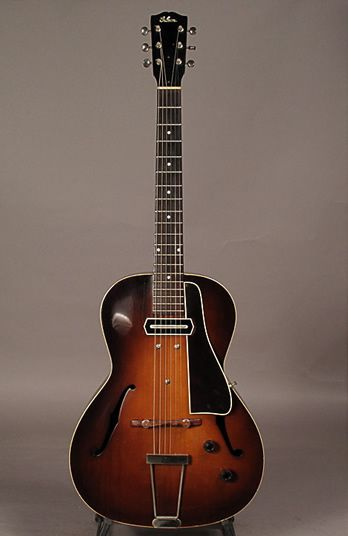 1941 Gibson L-37 archtop guitar with a Charlie Christian pickup.