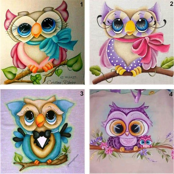 Stylish Cute Owl 5D Diamond Embroidery Painting DIYCross Stitch Craft Home Decor
