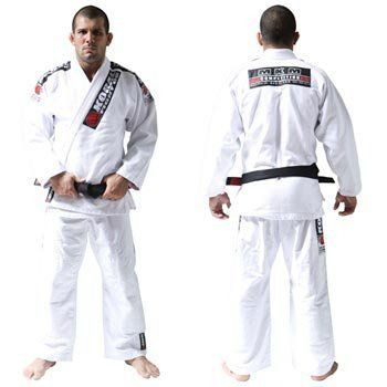 Koral Kimono MKM White - A4 by Koral. $189.90. High Performance Gi. 100% Cotton. 100% pre-shrunk. Slightly lighter fabric and looser fit compare to the MKM Gi. Koral logo printed on pants. Subject to an industrial process that provides total shrunk of the gi and top quality. Jacket is made with one piece of fabric with no seam in the back, providing strength, comfort and durability. Lapel has rubber inside to help keep it soft and make the gi dry faster. Also help pr...