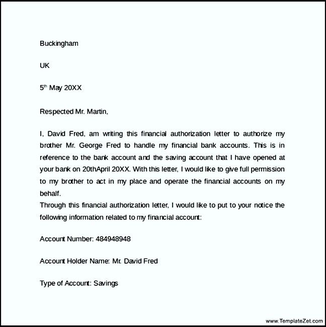 sample bank authorization letter templatezet sanction agriculture - letter of authorization