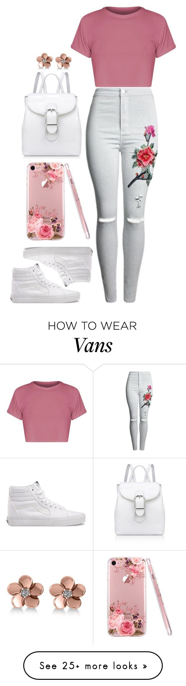"""Untitled #115"" by castor365 on Polyvore featuring BasicGrey, Vans, Anne Klein and Allurez"