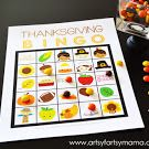 Thanksgiving Bingo.