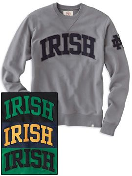 Product: University of Notre Dame Fighting Irish Crew