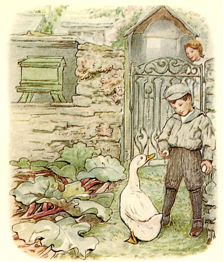Beatrix Potter, The Tale of Jemima Puddle-duck (London: Frederick Warne [1908]).