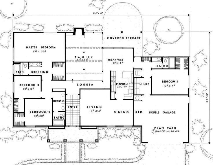 Leed House Plans 2650 Danze Davis Architects Inc
