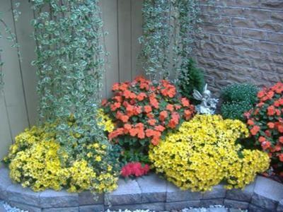 jardines pequenos con flores