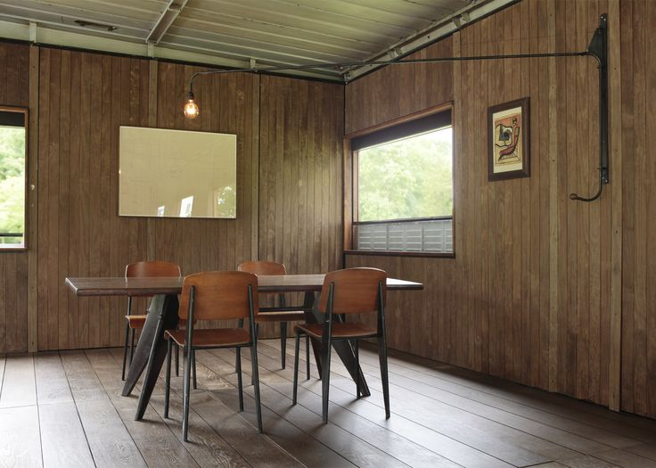 Jean Prouvé demountable office rescued from swingers' club