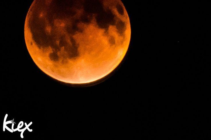 PERSONAL • LUNA IN ECLIPSE BLOOD MOON | kiex fotography & design  #lunareclipse #bloodmoon