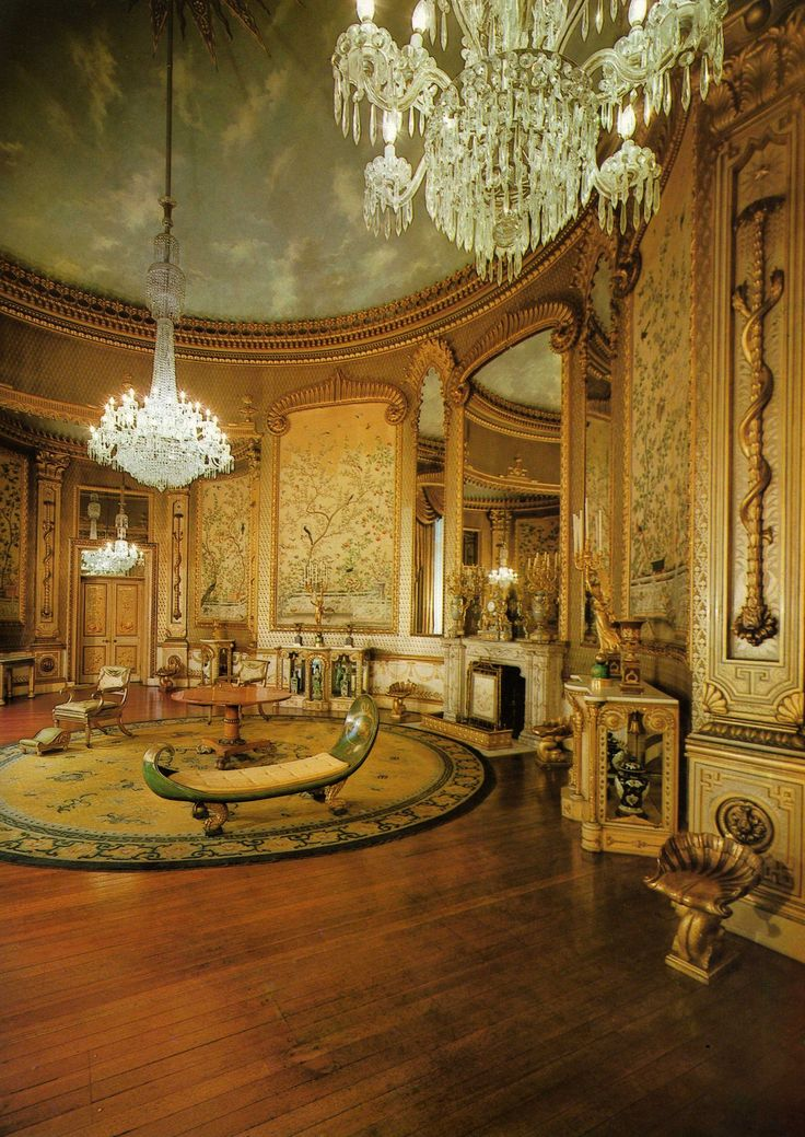 The Saloon - The Royal Pavilion - Brighton - England - A Royal Residence