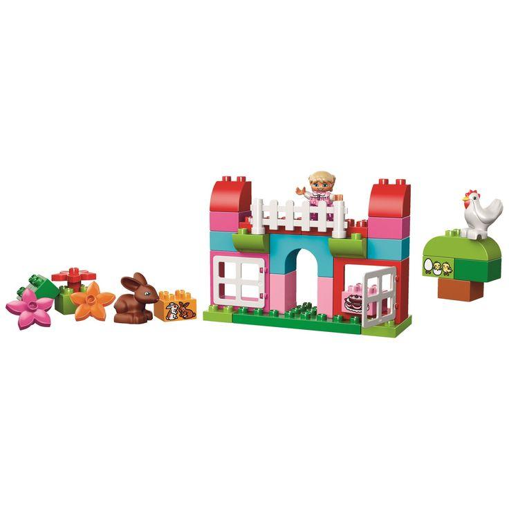 LEGO DUPLO Cutie roz completa pentru distractie 10571