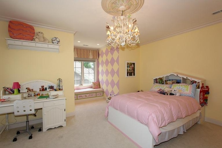 #pink And #yellow Bedroom