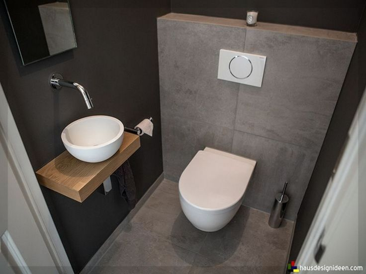 Gäste WC gestalten – 16 schöne Ideen für ein …